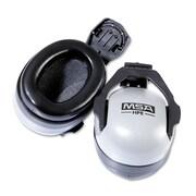 MSA Soprano™ Ear Muff For Full Brim Hard Hats, NRR 25dB, Gray/Black