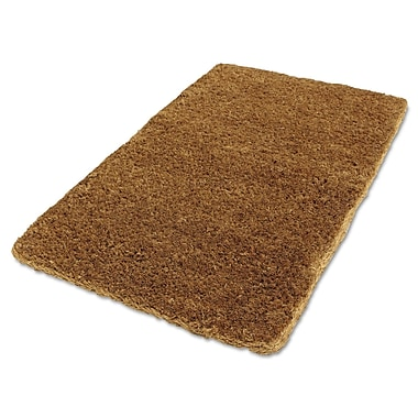 Anchor® 36in. x 22in. Woven Fiber Coco Mat, Natural Tan
