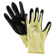 Ansell® HyFlex® 11500 DuPont™ Kevlar® Lining Foam Nitrile Cut Resistant Gloves, Yellow/Black, Medium