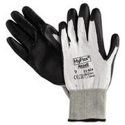 Ansell® HyFlex® Polyurethane Cut Resistant Gloves, White/Black, Large