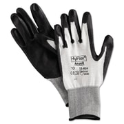 Ansell® HyFlex® Polyurethane Cut Resistant Gloves, White/Black, X-Large