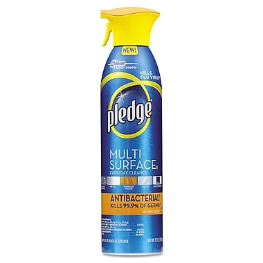 Pledge® Multi-Surface Antibacterial Everyday Cleaner, 9.7 oz.