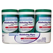 Boardwalk® Disinfecting Wipes, Fresh Scent, 75 Counts