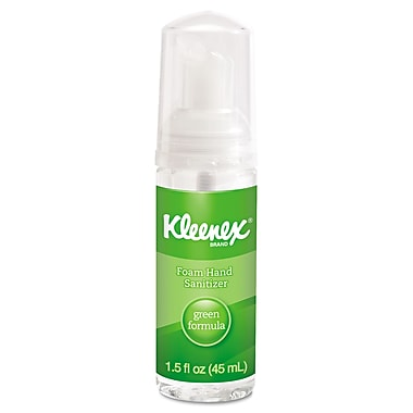 Kimberly-Clark Professional® Kleenex® Green Certified Foam Hand Sanitizer Gel, 1.5 oz., 24/Pack