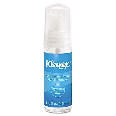 Kimberly-Clark Professional® Kleenex® Moisturizing Foam Hand Sanitizer Gel, 1.5 oz., 24/Pack