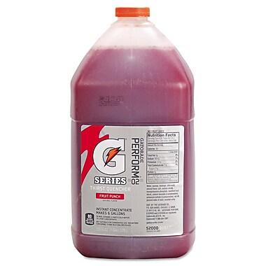 Gatorade® Sports Drink Mix, Fruit Punch, 1 gal Bottle, 4/Pack