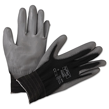 Ansell® HyFlex® Nylon Lining Polyurethane Coated White Multi-Purpose Gloves