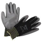 Ansell® HyFlex® Nylon Lining Polyurethane Coated Multi-Purpose Gloves, White, Medium