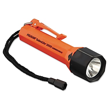 Pelican™ SabreLite™ 2000 Xenon Flashlight, Orange