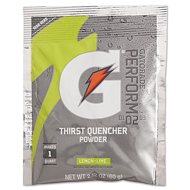 Gatorade® G2 Low Calorie Powder Sports Drink Mix, Lemon-Lime, 2.12 oz., 144/Pack