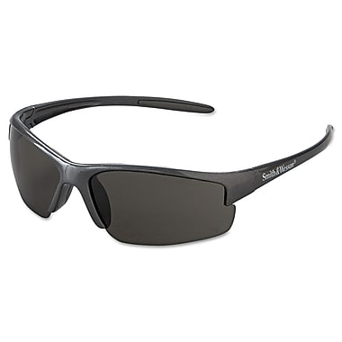 Smith & Wesson® Equalizer Series Wraparound Scratch-Resistant Safety Glasses, Smoke Lens