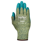 Ansell® HyFlex® 11501 DuPont™ Kevlar® Lining Foam Nitrile Cut Resistant Gloves, Green/Blue, Medium