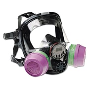 North Safety® 7600 Series Full Facepiece Respirator Mask, Medium/Large