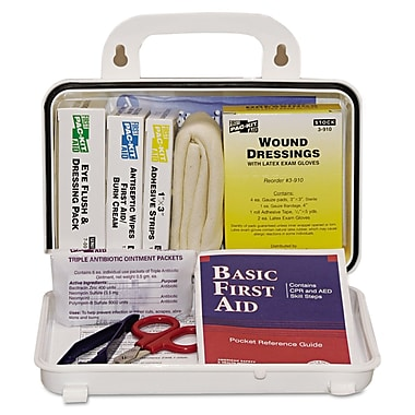 Pac-Kit 6410 Weatherproof First Aid Kit 10 Person 76 Pieces