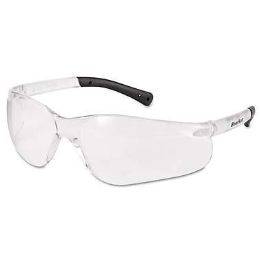 MCR Safety BearKat® Anti-Fog Non Slip Temple Sleeve Safety Glasses, Clear Lens