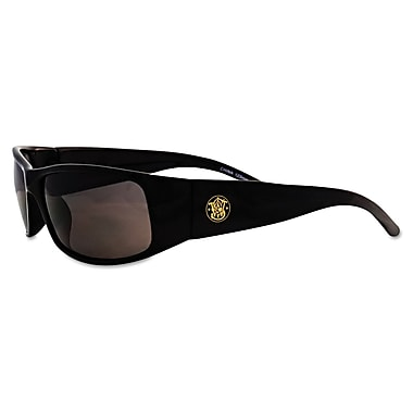 Smith & Wesson® Elite® Wraparound Scratch-Resistant Safety Glasses, Smoke Lens
