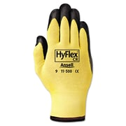 Ansell® HyFlex® 11500 DuPont™ Kevlar® Lining Foam Nitrile Cut Resistant Gloves, Yellow/Black, XL
