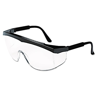 MCR Safety Stratos® Wraparound Safety Glasses, Clear Lens
