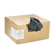 Webster Earthsense® 0.75 mil Reclaim Heavy Duty Recycled Can Liner, Black, 10 gal
