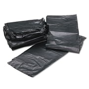 Webster Platinum Plus® 1.55 mil Low Density Can Liner, Silver/Black, 60 gal