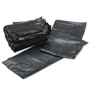 Webster Platinum Plus® 1.35 mil Super Heavy Duty Can Liner, Silver/Black, 33 gal