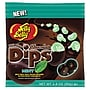 Jelly Belly Chocolate Mint Dips Peg Bag, 2.8