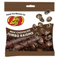 Jelly Belly Milk Chocolate Jumbo Raisins Peg Bag, 2.4 oz., 12 Peg Bags/Order