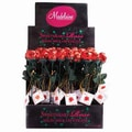 Madelaine brand Sweet Heart Roses, 5 oz., 48 Roses/Display/Order