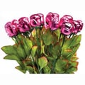 Madelaine brand Pink Foiled Chocolate Roses, .75 oz., 36 Roses/Order