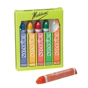 Madelaine brand Chocolate Crayon Box, 5 Chocolate Crayons per Box, 2.5 oz. Box, 24 Boxes/Order