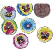 Madelaine Foiled Chocolate Pansies in a 5 lbs. bag