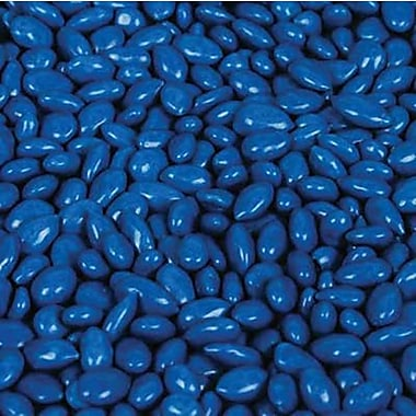 Kimmie Candy Blue Sunbursts Chocolate Candy Coated Sunflower Seed in a 5 lbs. bag