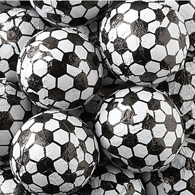 Chocolate Foiled Sport Balls, 10 lb. Bag