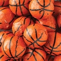 Thompson Chocolate Basketballs (Foiled), 10 lbs. Bag
