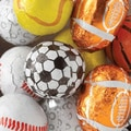Thompson Assorted Sports Balls (Foiled), 10 lbs. Bag