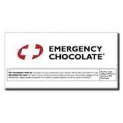 Bloomsberry Emergency Milk Chocolate Bar, 3.5 oz.., 10 Bars/Box