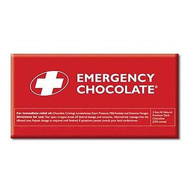 Bloomsberry Emergency Dark Chocolate Bar, 3.5 oz.., 10 Bars/Box