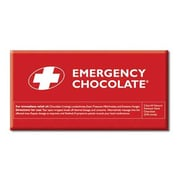 Bloomsberry Emergency Dark Chocolate Bar, 3.5 oz.., 10 Bars/Box