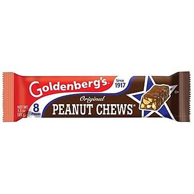 Just Born Goldenberg Retro Original Peanut Chews, 3.3 oz. Pouch, 18 Pouches/Box