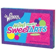 Wonka Mini Chewy SweeTart Theater Box 3.75 oz., 12 Boxes/Order