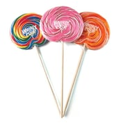 "Adam & Brooks Whirly Pop Assorted 5"" dia, 6 oz., 36 Pops/Order"