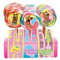 Adam & Brooks Scooby Doo Carnival Twirl Pops disp 3in.dia 8in. hi, 1.5 oz., 24 Pops/Order