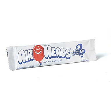 Airheads White Mystery bar, .55 oz. Bar, 36 Bars/Order