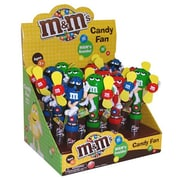 Candy Rific M & M Character Candy Fan, .53 oz.., 12 Fans/Order
