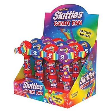 Candy Rific Skittles Candy Fan, .54 oz., 12 Fans/Order