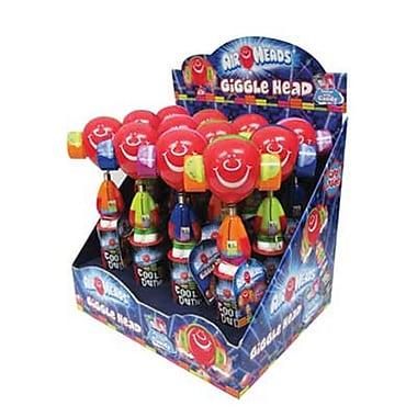 Candy Rific Airhead Giggle Head Pop, .78 oz., 12 Giggle Heads/Order