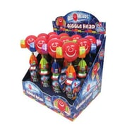 Candy Rific Airhead Giggle Head Pop, .78 oz., 12 Giggle Heads/Order