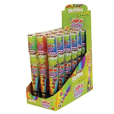 Candy Rific Skittles Light up Candy Spray, 1.01 oz., 18 Sprays/Order