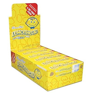 Ferrara Lemonhead Small Theater Box, 2.35 oz., 24 Boxes/Order