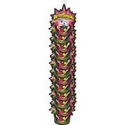 Foreign Candy Aftershocks Popping Candy Clipstrip, 1.06 oz., 12 Pouches/Order
